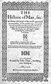 """John Banester,""""The Historie of Man"""", 1578; title page Wellcome L0000294.jpg"""