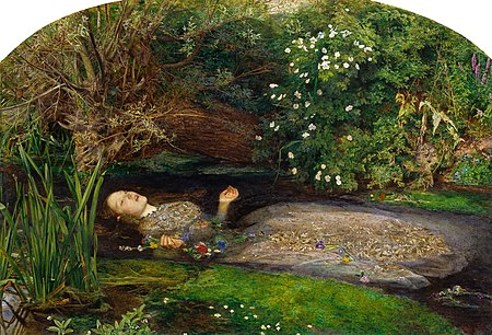 "John Everett Millais, ""Ophelia"""