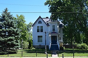 National Register of Historic Places listings in Oconto County, Wisconsin - Image: John G. Campbell House, Oconto, WI
