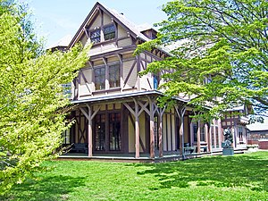 Old China Trade - John N. A. Griswold House, built in 1864 for an American China trade merchant in Newport, Rhode Island