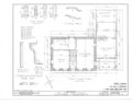 John Hunn House, Ridge and East Holley Roads, Murray, Orleans County, NY HABS NY,37-MUR,1- (sheet 1 of 5).png