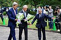 John Kerry Chuck Hagel and Officer 20131003.jpg