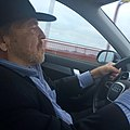 John Perry Barlow driving across Golden Gate Bridge.jpg