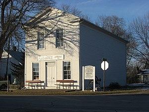Plain Township, Kosciusko County, Indiana - The John Pound Store in Oswego