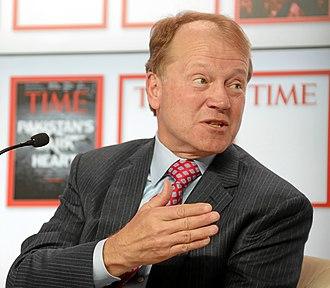 John T. Chambers - Image: John T. Chambers World Economic Forum 2013