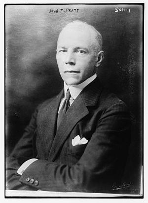 John Teele Pratt - John Teele Pratt in 1919