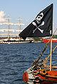 Jolly Roger flag tall ships race Aalborg 2004.jpg