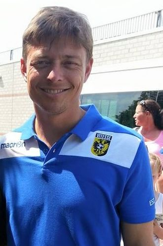 Jon Dahl Tomasson, head coach of Malmo FF. Tomasson has coached the side since January 2020. Jon Dahl Tomasson.jpg