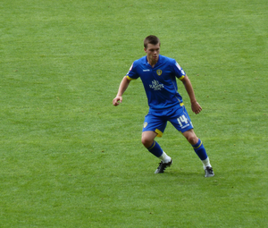 Jonny Howson - Howson in Leeds' colours, 2010