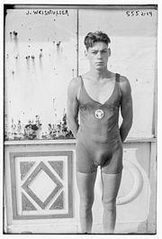 Jonny Weissmuller 1924