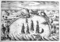 Joris van Spilbergen in the bay of Valparaiso 1615.png