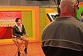 Jose Enrique antes de filmar promo para el programa Breakfast Contigo 27feb2013.jpg