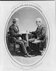 JosephEJohnston&RobertELeePostWar
