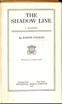 Joseph Conrad The Shadow Line 1917 Title.pdf