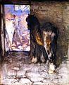Joseph Crawhall, 1885c - The Forge.jpg