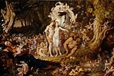 Joseph Noel Paton - The Reconciliation of Titania and Oberon.jpg