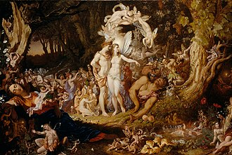 Oberon - The Reconciliation of Titania and Oberon by Joseph Noel Paton