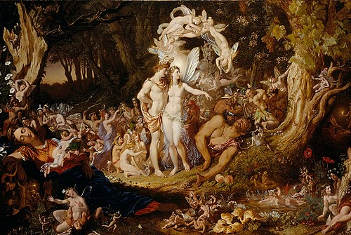 The Reconciliation of Titania and Oberon