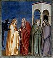 Judas being paid - Capella dei Scrovegni - Padua 2016.jpg