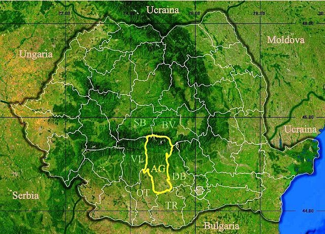 File Judetul Arges 3d Map Jpg Wikipedia