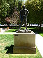 Jules Bastien-Lepage sculpture by Rodin; front side.JPG