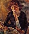 Jules Pascin - Portrait of Hermine David.Jpg