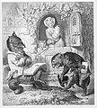 Julius Schnorr, Zeichnung, Reinecke Fuchs, Gesang 1, nach W. v. Kaulbach, D2104-3.jpg
