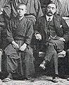 Jun'ichirō Tanizaki & Inazō Nitobe 1908.jpg