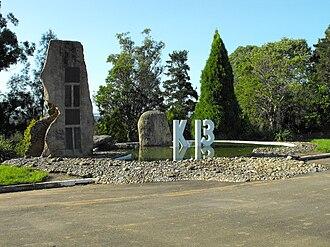 HMS K13 - The K13 Memorial at Carlingford, New South Wales