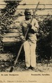 KITLV - 1405639 - Kersten & Co., C. - Paramaribo - The old grave-digger, Paramaribo, Surinam - 1895-1910.tif