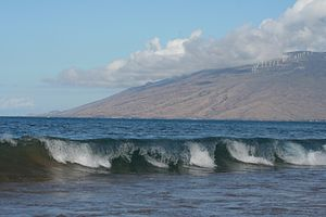 English: Kaheawa Wind Farm near Maalaea, Maui,...