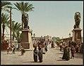 Kairo, entrée du Pont du Nil LCCN2017657708.jpg