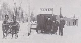 The Kaiser Train Depot was a decommissioned boxcar.