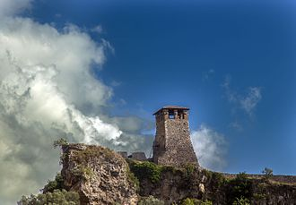 Krujë - Krujë Castle is a major landmark located on the highest point of Kruje