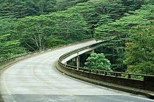 Kalihiwai, Hawaii - Kalihiwai Bridge, Kuhio Highway 56, Kauai, Hawaii