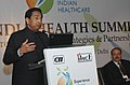 "Kamal Nath addressing at the India Health Summit's Special Plenary Session ""Empowering India's Healthcare Infrastructure – Strategic Investments and Partnerships"", in New Delhi on November 14, 2007.jpg"