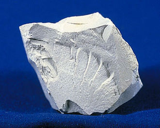 Lustre (mineralogy) - Kaolinite