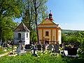 Kaplica grobowa Tyszkowskich, Huwniki, pow. przemyski, obecnie cerkiew greckokatolicka pw. Podwyższenia Krzyża Świętego.jpg