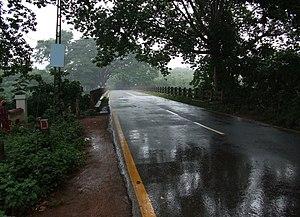 Chungathara - Karimpuzha Bridge in monsoon