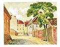 Karl Stanka gr.002.514 2, 1928, Radeberg Gasse zur Oberstraße.jpg
