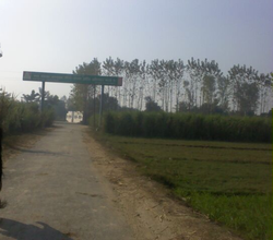 Main Entrance gate of Karnawal village