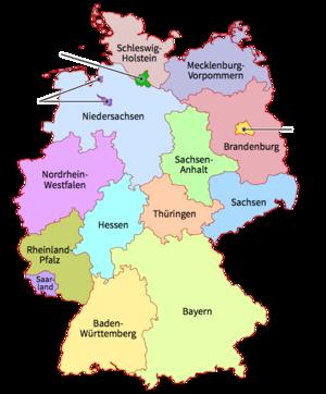 Deutschland bundesländer hauptstadt Deutschland