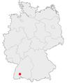 Karte Villingen Schwenningen in deutschland.png
