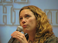 alt=Description de l'image Kate Hewlett Creation Official Stargate Convention 2007.jpg.
