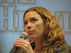 Kate Hewlett - Hewlett at the Creation Official Stargate Convention, 2007