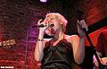 Katya Zakharova at Rockwood Music Hall - New York City - July 2006.jpg