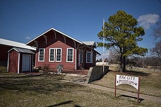 Kaw City, Oklahoma City in Oklahoma, United States