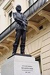 Keith Park statue, Waterloo Place.jpg