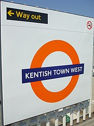 Kentish Town West stn roundel.JPG