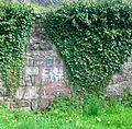 Kerelaw Castle walled garden - old entrance.JPG